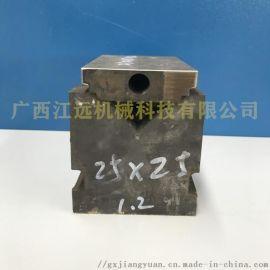液压管材冲孔机模具 方管冲断下料机 圆管冲弧磨口