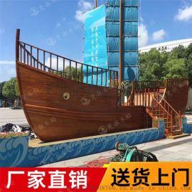 聊城小区景观船餐厅造景船质量好