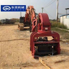 350型液压锤打桩机 改装钢管打桩机