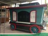 重庆流动汉堡炸鸡车-冷饮小吃售卖车-找时景家具定制