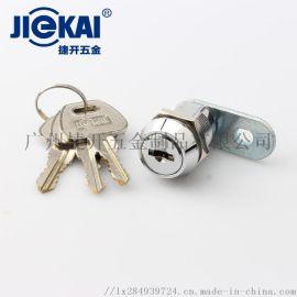 JK517锌合金机柜锁,可做5000组杂号