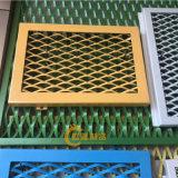 建筑抹灰钢板网 基坑护坡菱形网 防锈漆圈地钢板网