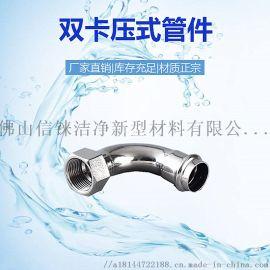 广东信烨牌家装国标薄壁不锈钢水管