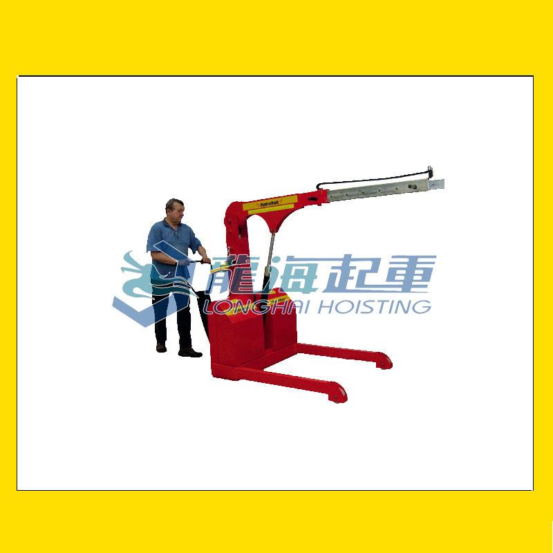 Hydrobull底盤電動液壓小吊車,並行底盤電動型工業起重機