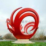 廠家定製城市園林不鏽鋼藝術塑造可塑性強雕塑擺件