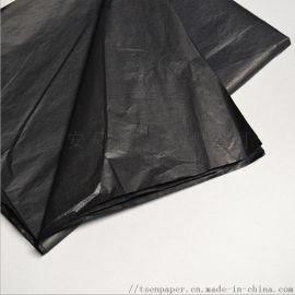 现货14克黑色雪梨纸薄页纸衣服包装纸