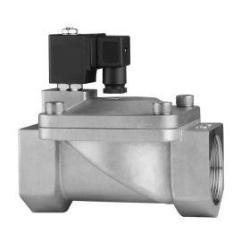 进口不锈钢膜片式电磁阀-常闭-常开-水