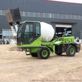 混凝土搅拌车 自上料搅拌车 2.6方混泥土运输车
