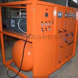 国内电力资质承装修试SF6气体抽真空充气装置抽气速率≥45L/S
