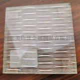 河北美饰泽白色金属夹丝玻璃材料椭圆形夹丝材料定制