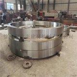 1.0-3.8米規格臥式滾筒烘乾機滾圈廠家定製