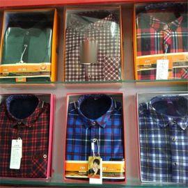 男士保暖衬衣衬衫39元一件模式跑江湖地摊价格