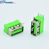 USB连接器 母座 单层短体侧插 10.0 大电流