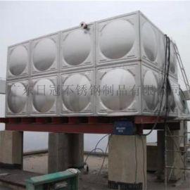 河源保温水箱双层储水罐日冠箱泵一体水箱不锈钢水塔