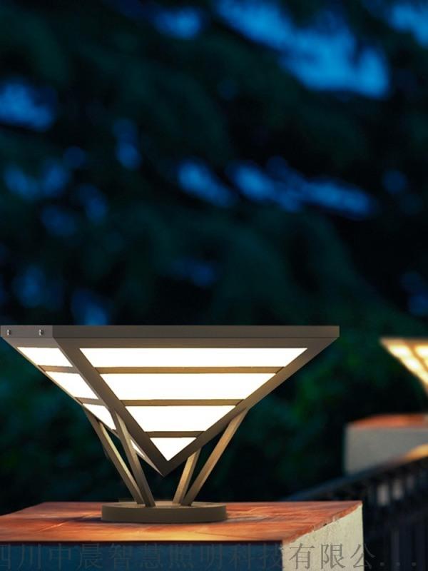 四川中晨铝制草坪灯别墅庭院灯园林景观灯
