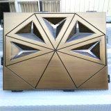 機場門頭雙曲造型鋁單板 異型曲面吊頂鋁單板設計