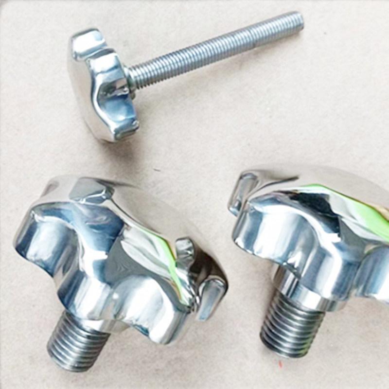 不锈钢外丝梅花手轮 人孔 过滤器用配件