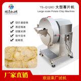 提供大型商用切菜机土豆蔬菜切片机TS-Q128D