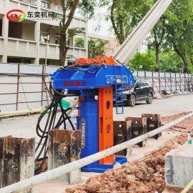 拔H型钢机 型钢起拔工法起陈液压拔桩机