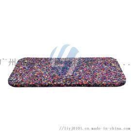 建筑楼板材料单面凹聚氨酯橡胶聚乙烯发泡隔音垫