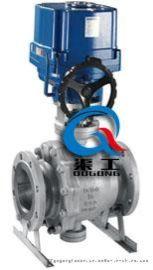 Q947固定式电动球阀、固定式法兰电动球阀