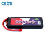 鋰聚合物電池3300mAh無人機航拍電池11.1V