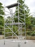 深圳加工铝合金脚手架搭设规范 活动铝制架