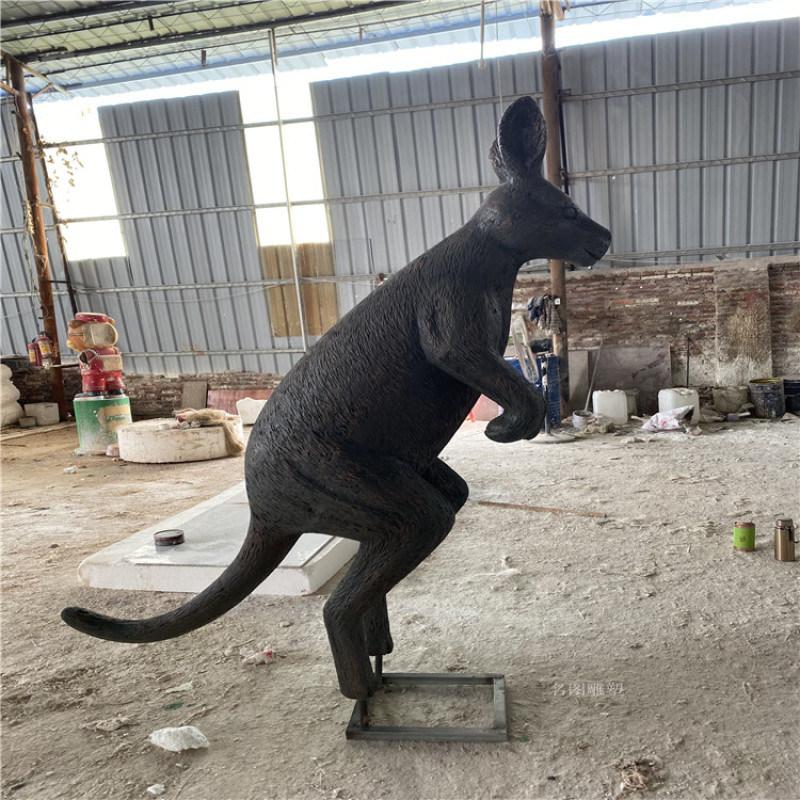 形象卡通雕塑擺件 玻璃鋼迎賓公仔雕塑