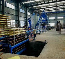 免拆复合保温外模板设备属于新型环保建材