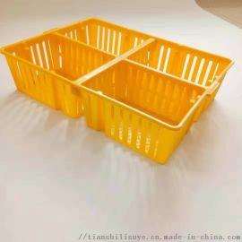 雏鸡运输筐 运输鸡苗塑料箱 鸡苗运输箱厂家