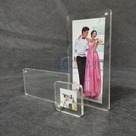 恒隆厂家直销亚克力双面透明相框