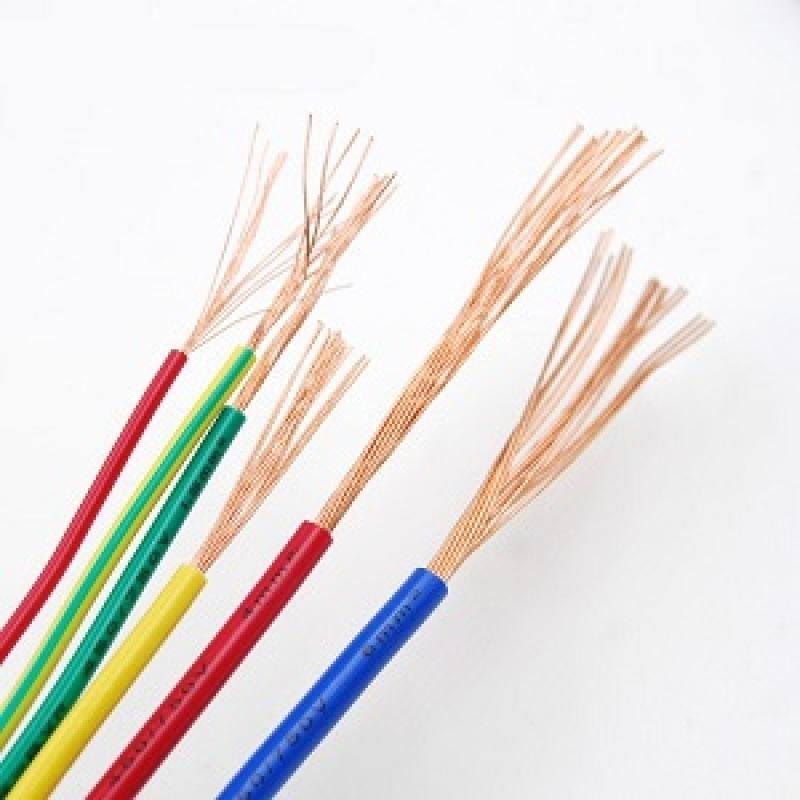 金环宇电线 N-BVR6平方多股铜芯软线 100米