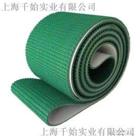 绿色草带pvc输送带是工业皮带