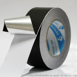 黑色铝箔胶带 导电耐高温   隔热胶带 可模切冲型