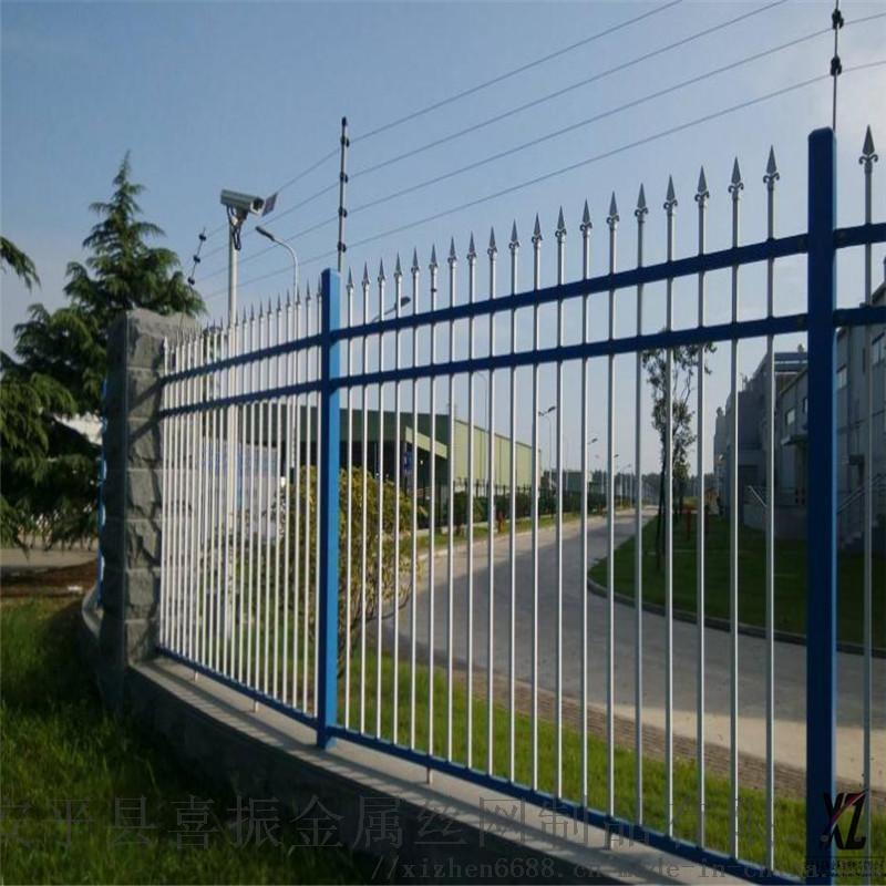 墙壁锌钢护栏@可定制锌钢护栏@苏州围墙隔离栅