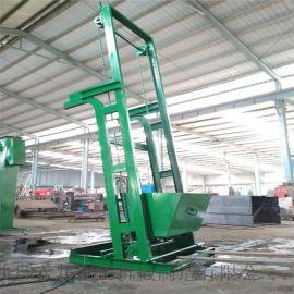碎煤上料机 垂直环链斗式提升机安装调试方法 六九重