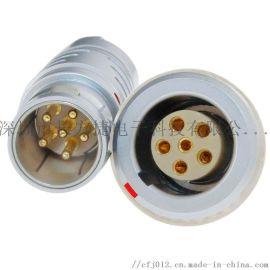 长方捷连接器 6芯电子仪器仪表测试线束 电源信号线