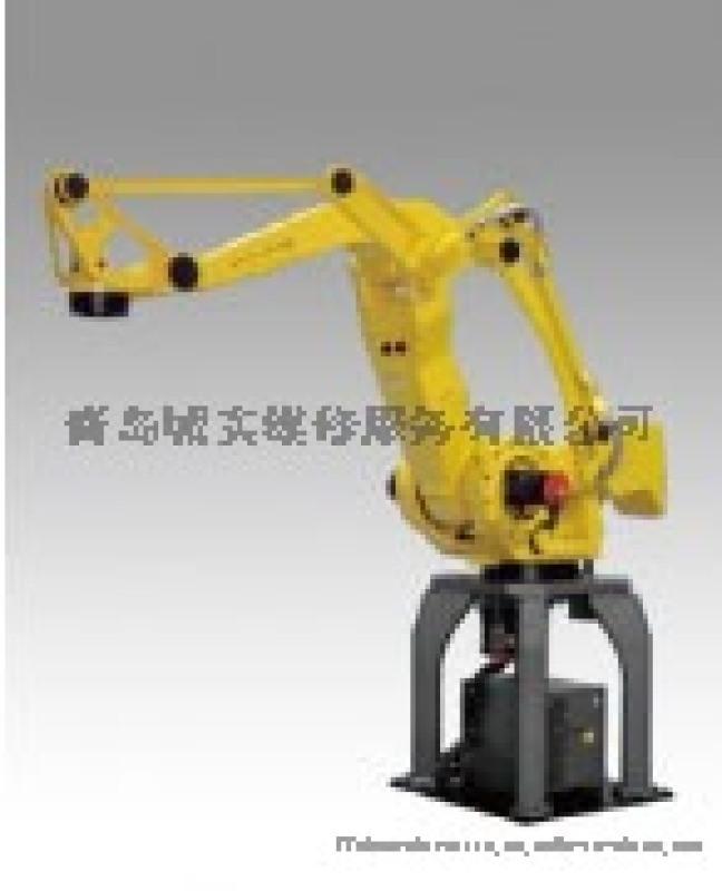 青岛发那科工业机器人机械臂下滑故障维修