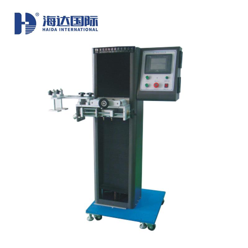 廣東海達桌子鎖耐用性測試儀廠家  東莞桌子鎖壽命測試機 HD-F759