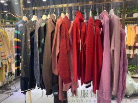 品牌女装市场潮流新款女装外套连衣裙大衣等折扣批发