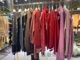 品牌女裝市場潮流新款女裝外套連衣裙大衣等折扣批發
