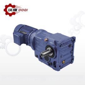 K87-Y1.5-4P-NA9.5-A-M1斜齿轮减速电机