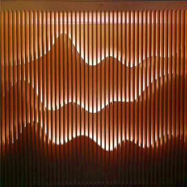 外墙格栅铝方通 型材格栅铝方管