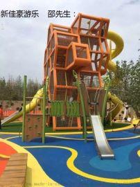 深圳幼儿园玩具户外组合滑梯大型游乐设备厂家