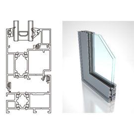 广东兴发系统门窗EW60外平开窗