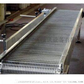 定制不锈钢链板输送带