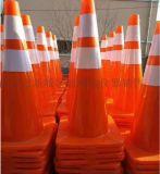 西安PVC路錐交通設施橡膠路錐
