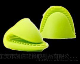 耐高温厨房专用硅胶隔热防烫手套