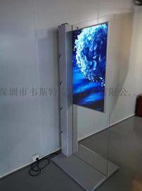 吊挂式液晶广告标牌 产品双面展示牌