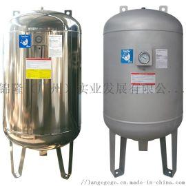 供水增压  SS不锈钢系列供水压力罐